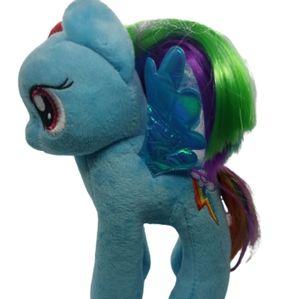 "Ty My Little Pony Rainbow Dash Plush 7"""